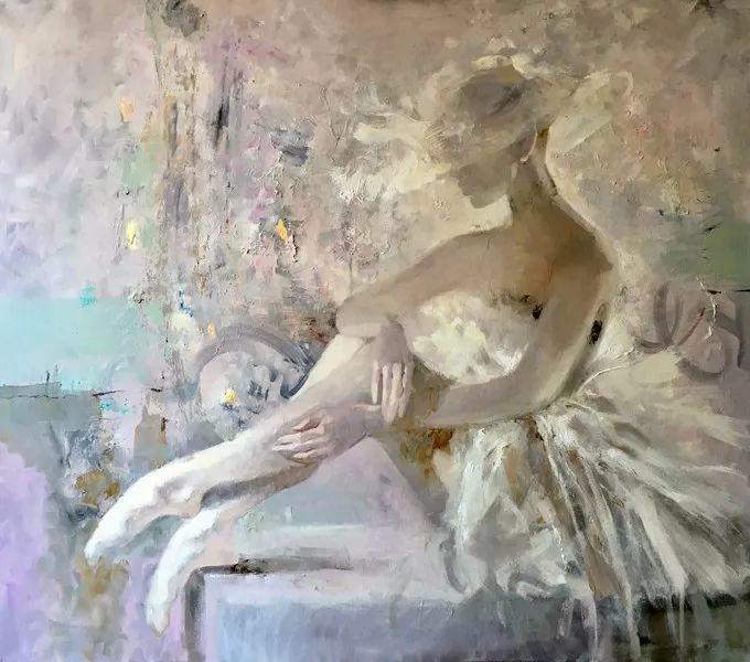 她的油画里,有一种惊艳脱俗的美!插图33