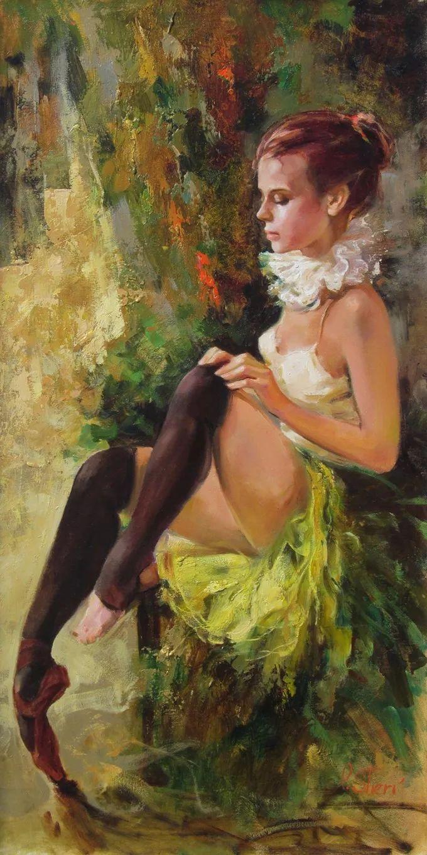 她的油画里,有一种惊艳脱俗的美!插图57