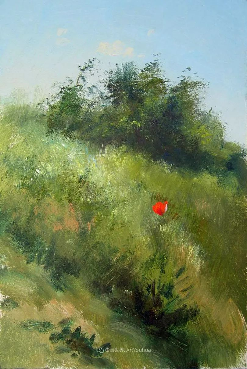 绘画步骤作品二,俄罗斯画家谢尔盖·图图诺夫插图25