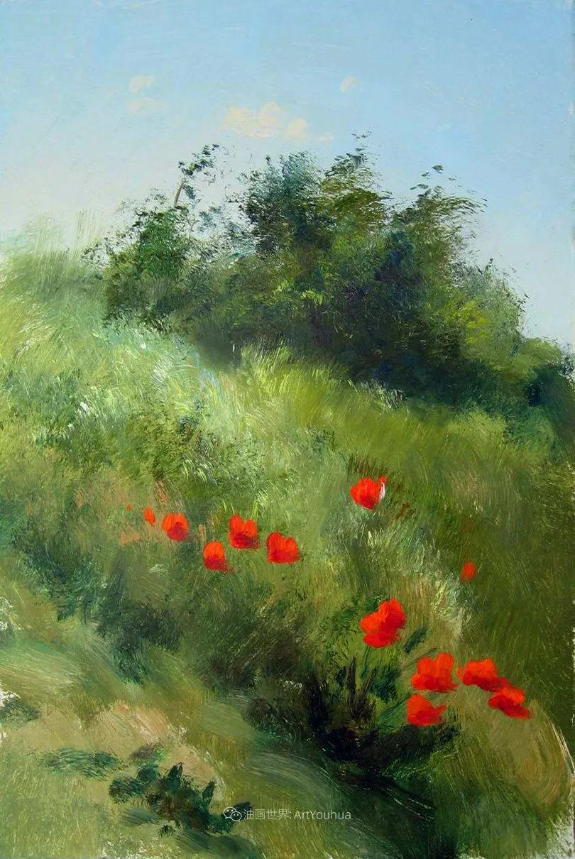 绘画步骤作品二,俄罗斯画家谢尔盖·图图诺夫插图27