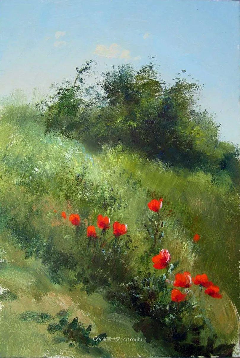 绘画步骤作品二,俄罗斯画家谢尔盖·图图诺夫插图31