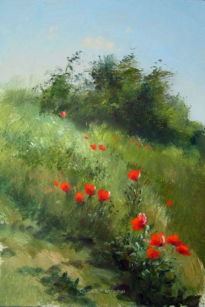 绘画步骤作品二,俄罗斯画家谢尔盖·图图诺夫插图33