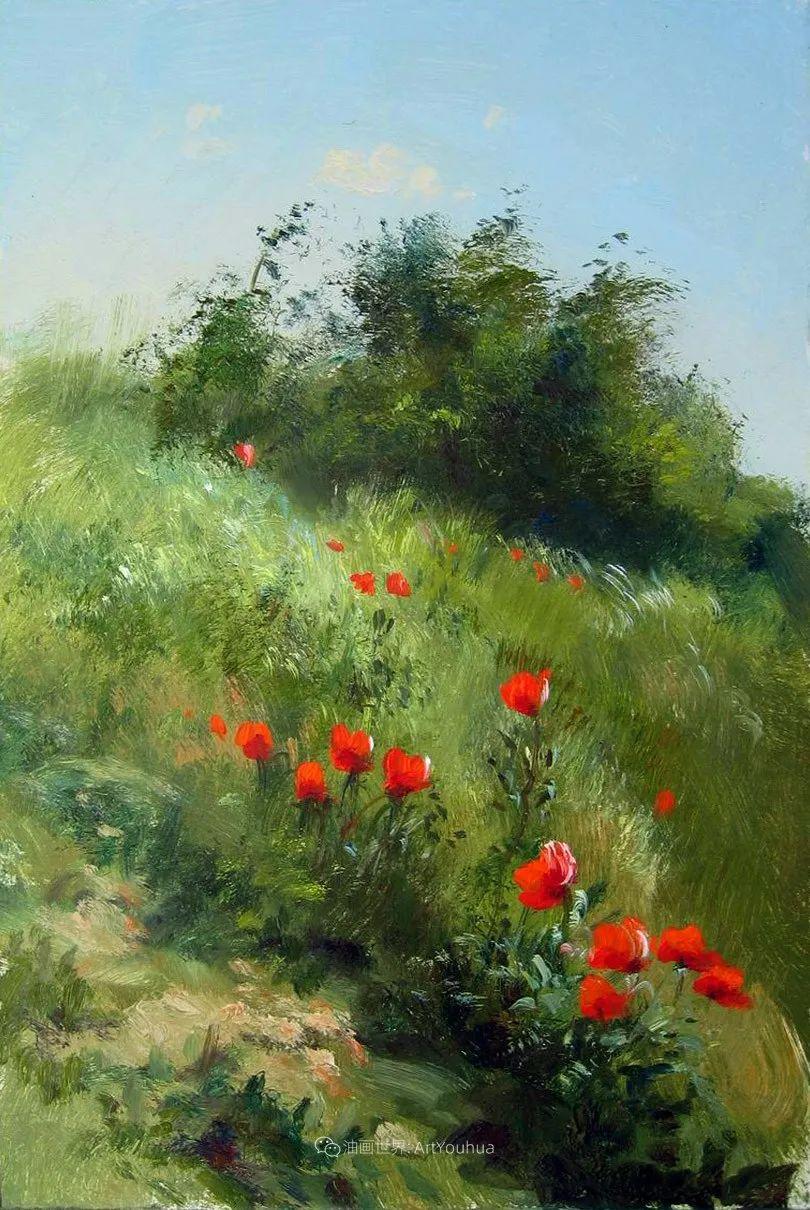 绘画步骤作品二,俄罗斯画家谢尔盖·图图诺夫插图35