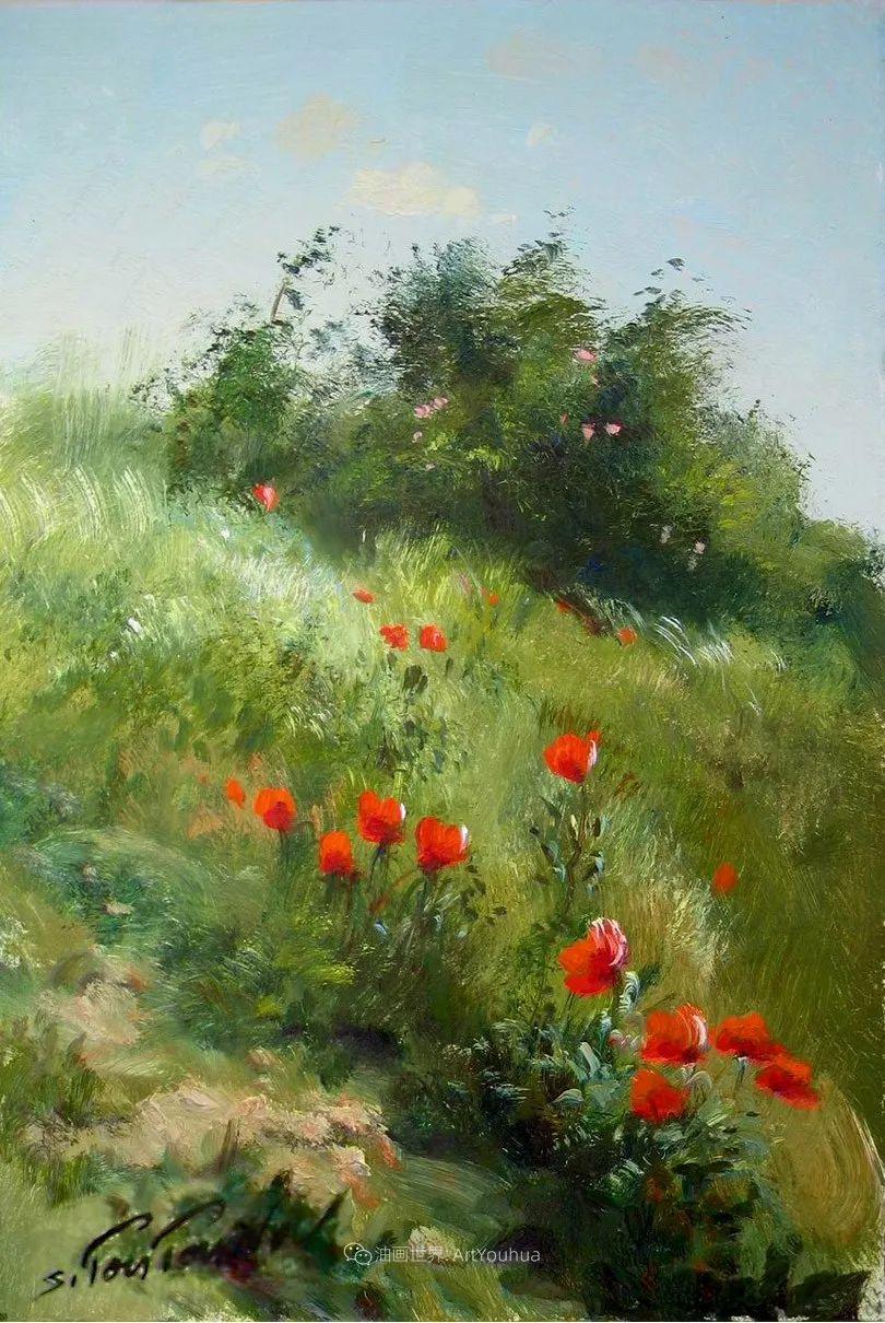 绘画步骤作品二,俄罗斯画家谢尔盖·图图诺夫插图39