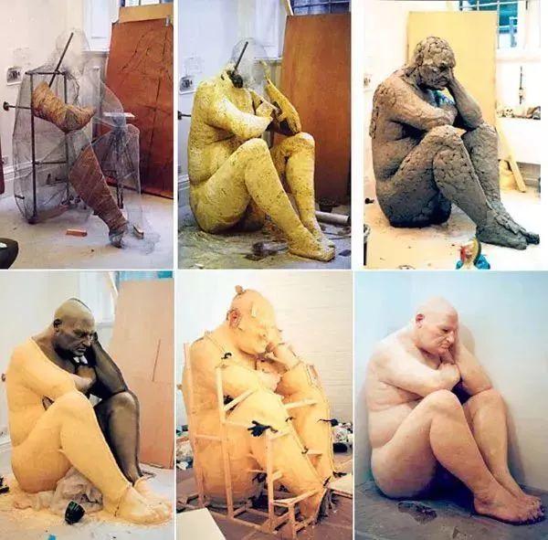 超震撼的人体雕塑,真实到毛骨悚然!插图25