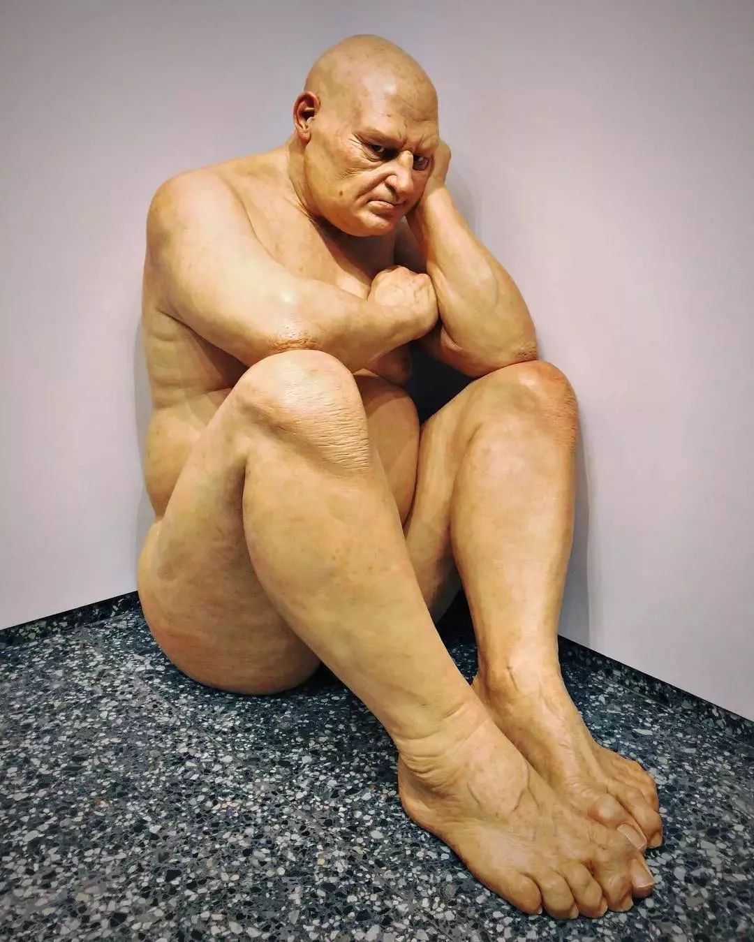 超震撼的人体雕塑,真实到毛骨悚然!插图27