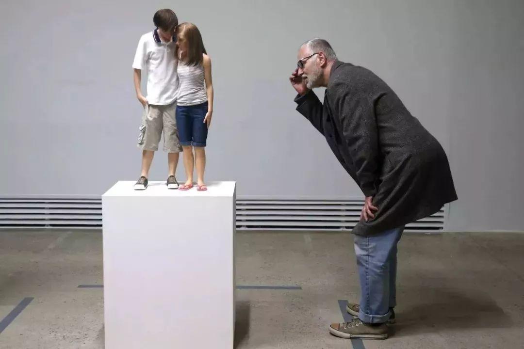 超震撼的人体雕塑,真实到毛骨悚然!插图55