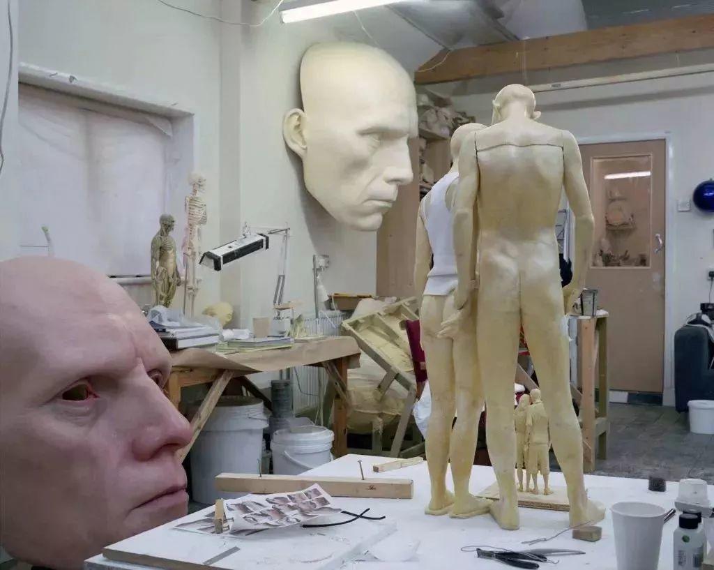 超震撼的人体雕塑,真实到毛骨悚然!插图77
