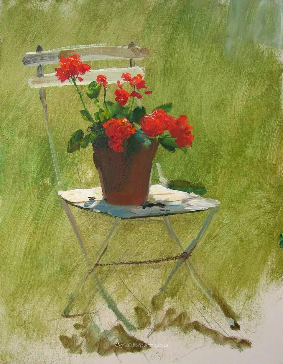 绘画步骤 | 俄罗斯画家谢尔盖·图图诺夫作品一插图23