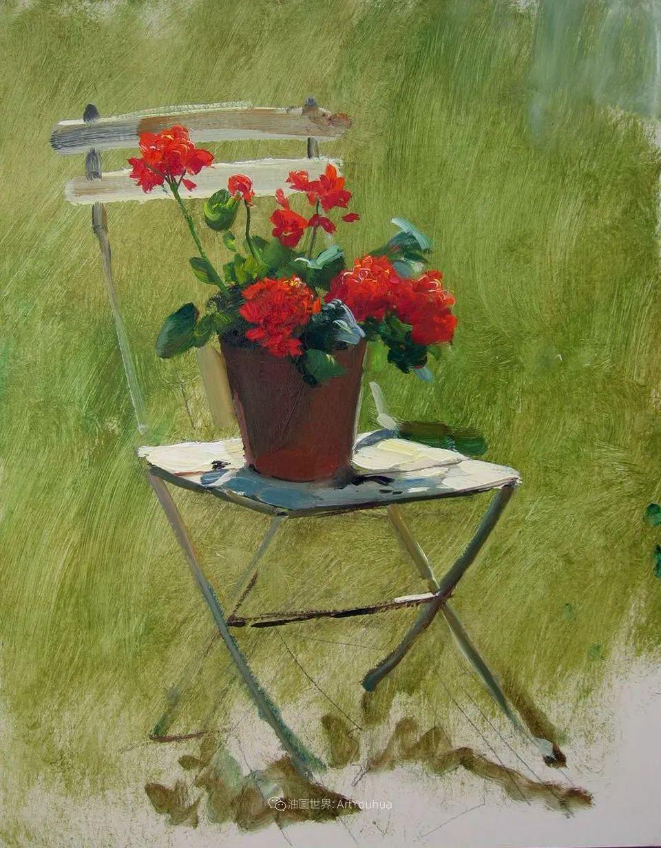 绘画步骤 | 俄罗斯画家谢尔盖·图图诺夫作品一插图27