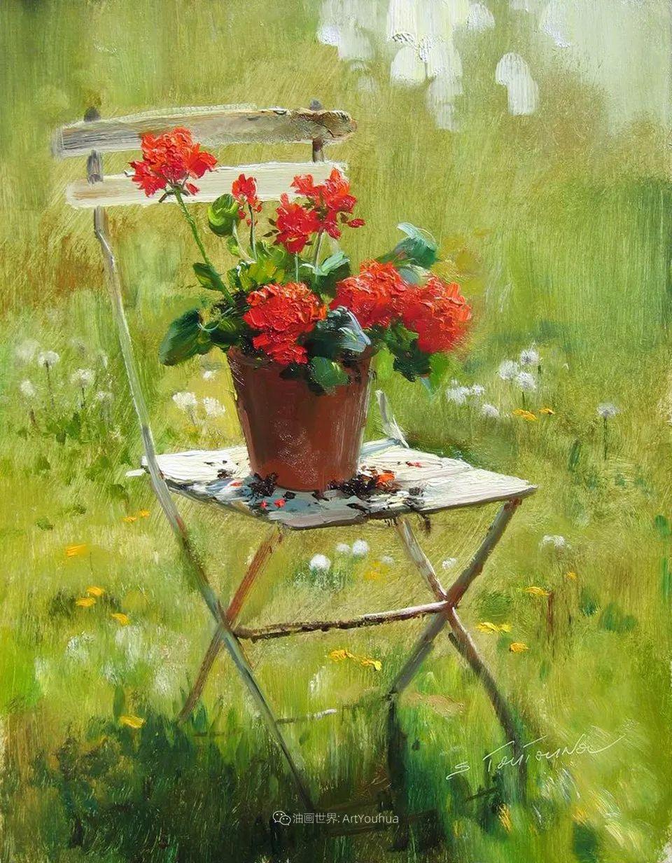绘画步骤 | 俄罗斯画家谢尔盖·图图诺夫作品一插图37