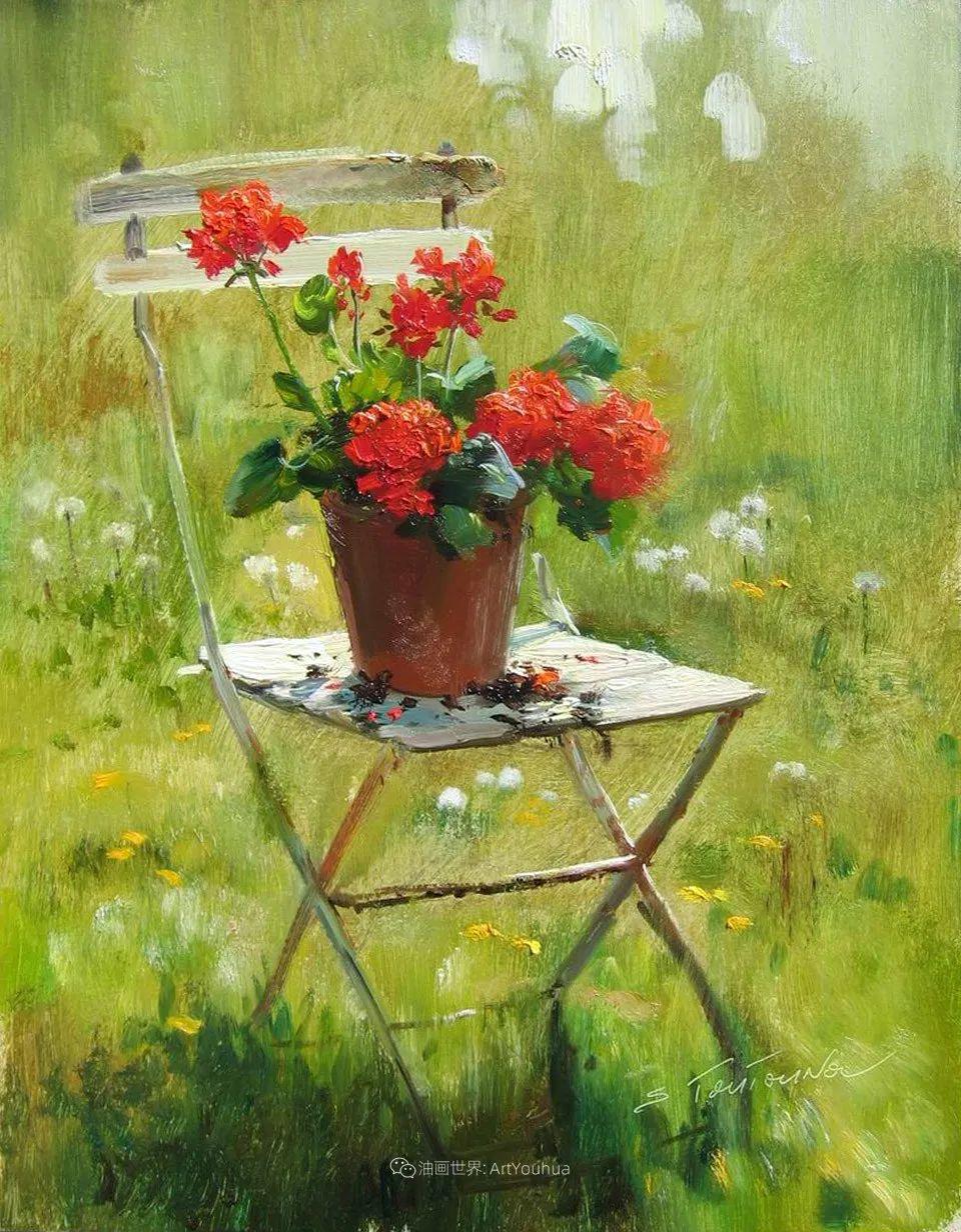 绘画步骤 | 俄罗斯画家谢尔盖·图图诺夫作品一插图39