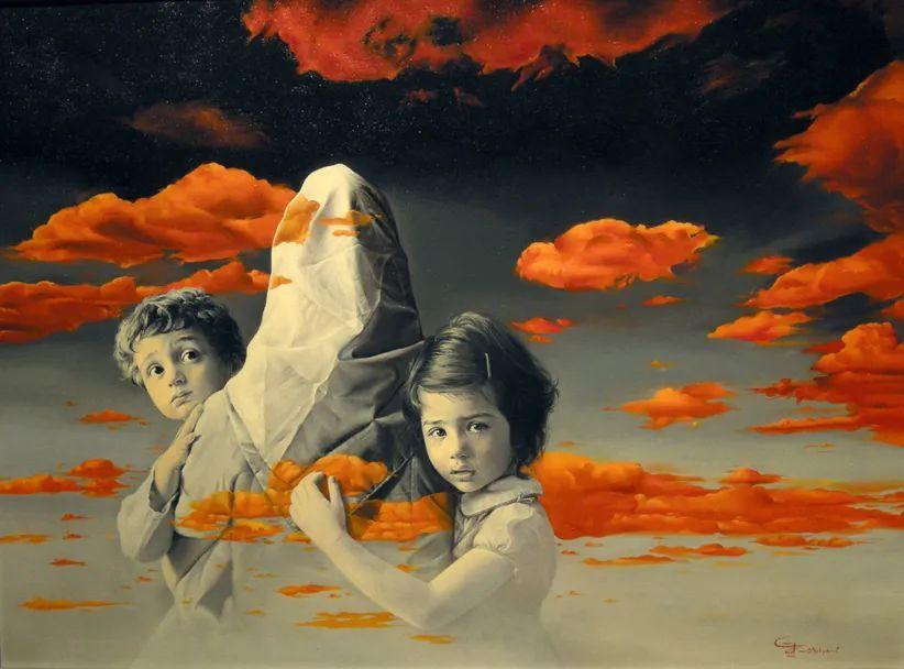 伊朗当代现实主义画家,也是空手道高手!插图1