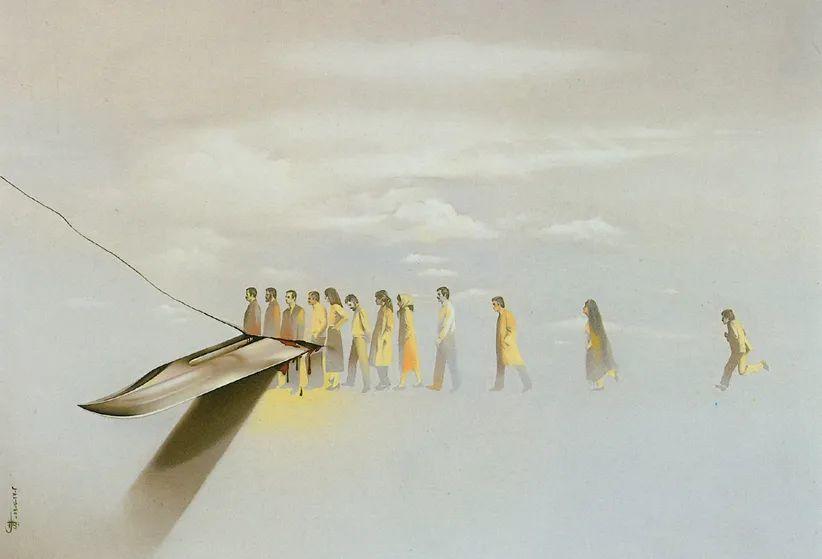 伊朗当代现实主义画家,也是空手道高手!插图7