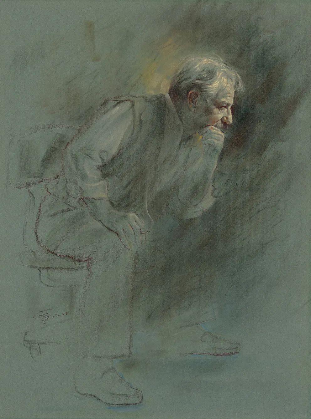 伊朗当代现实主义画家,也是空手道高手!插图19