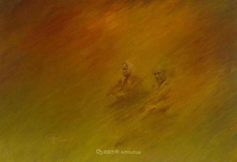 伊朗当代现实主义画家,也是空手道高手!插图33