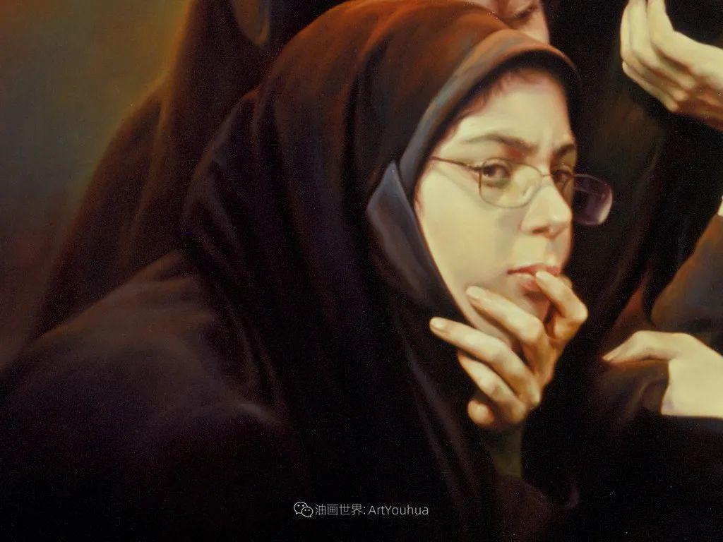 伊朗当代现实主义画家,也是空手道高手!插图45