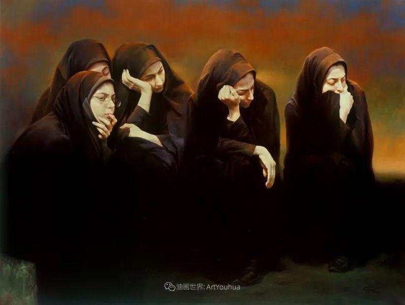 伊朗当代现实主义画家,也是空手道高手!插图47