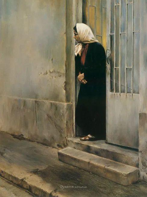 伊朗当代现实主义画家,也是空手道高手!插图51