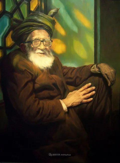 伊朗当代现实主义画家,也是空手道高手!插图55