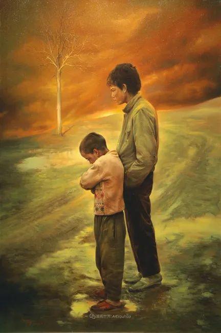伊朗当代现实主义画家,也是空手道高手!插图69