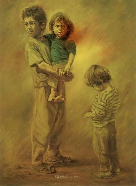 伊朗当代现实主义画家,也是空手道高手!插图71