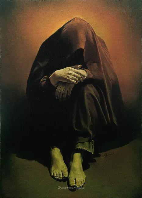 伊朗当代现实主义画家,也是空手道高手!插图73