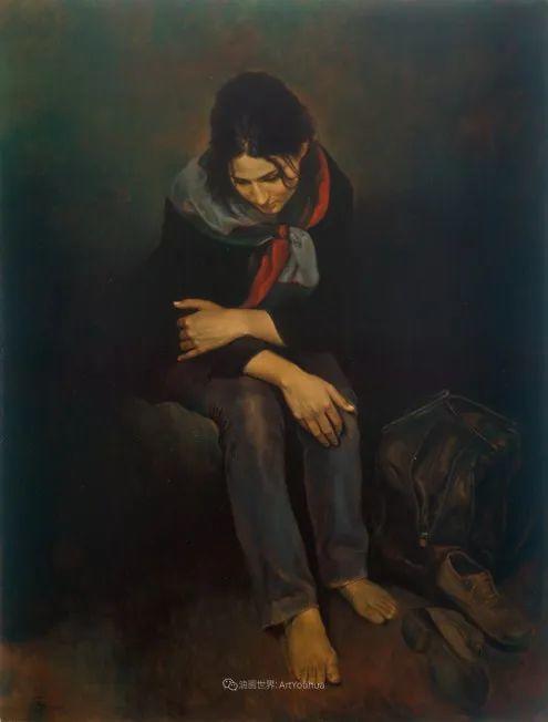 伊朗当代现实主义画家,也是空手道高手!插图77