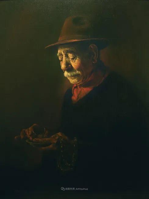 伊朗当代现实主义画家,也是空手道高手!插图81