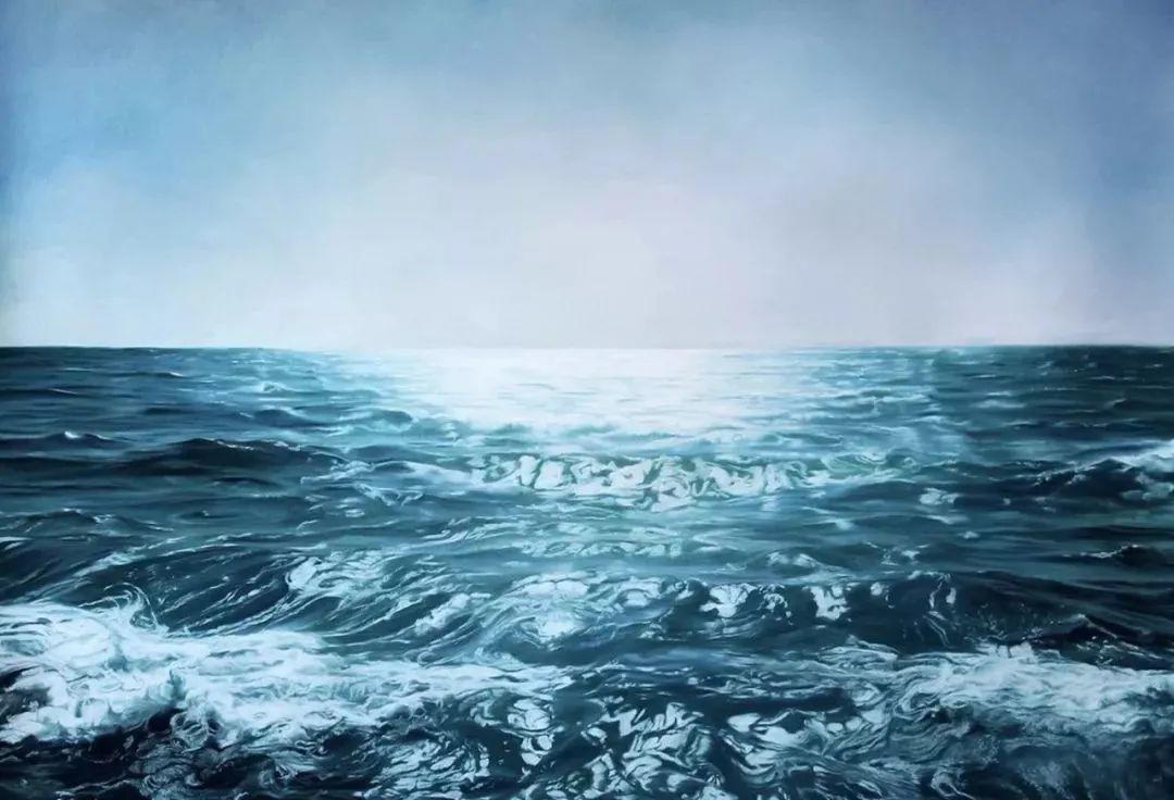 她用手指画出震撼的冰山,俘获上千万粉丝的心插图53