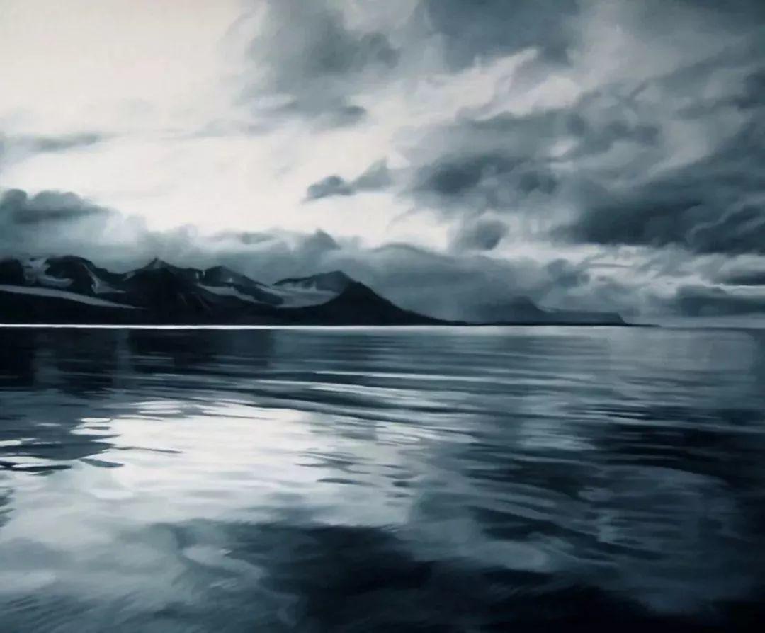 她用手指画出震撼的冰山,俘获上千万粉丝的心插图66
