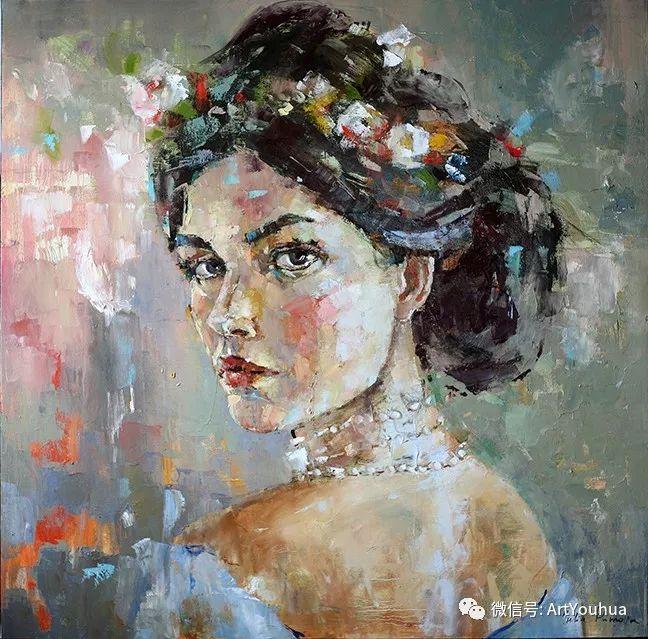 颜色丰富、笔触大胆的肖像画,很乱却很耐看!插图7