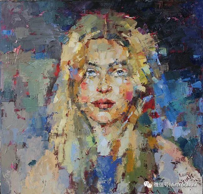 颜色丰富、笔触大胆的肖像画,很乱却很耐看!插图9