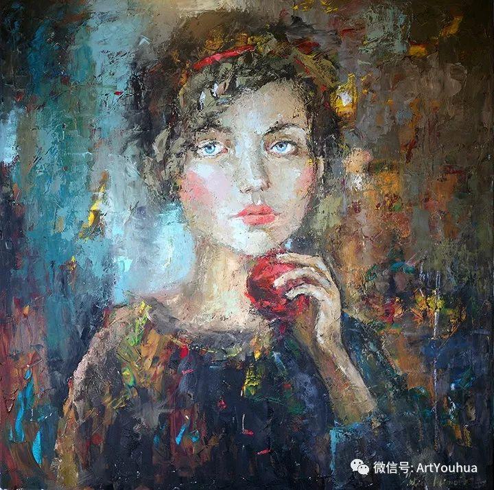 颜色丰富、笔触大胆的肖像画,很乱却很耐看!插图21