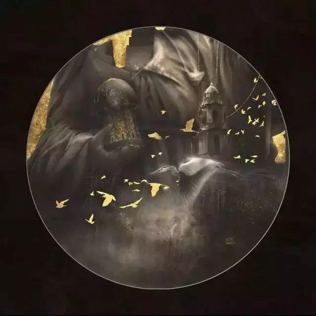 扎实的造型功力,让他作品散发着浓厚的神秘气息插图9