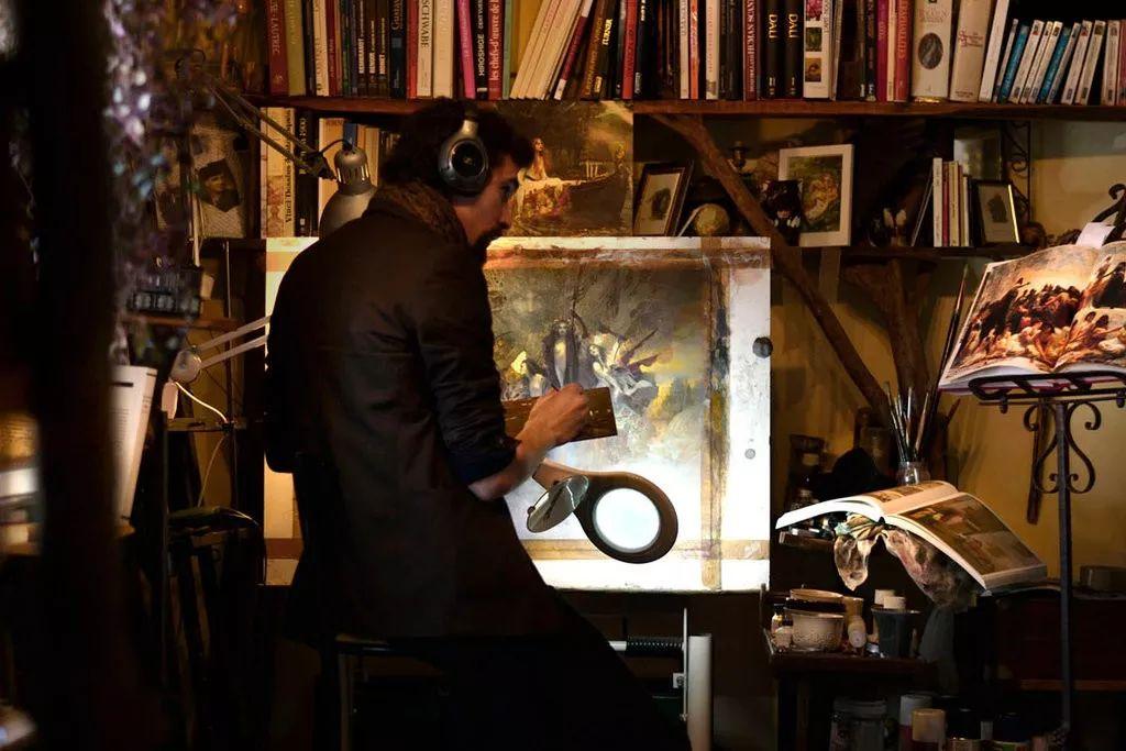扎实的造型功力,让他作品散发着浓厚的神秘气息插图75