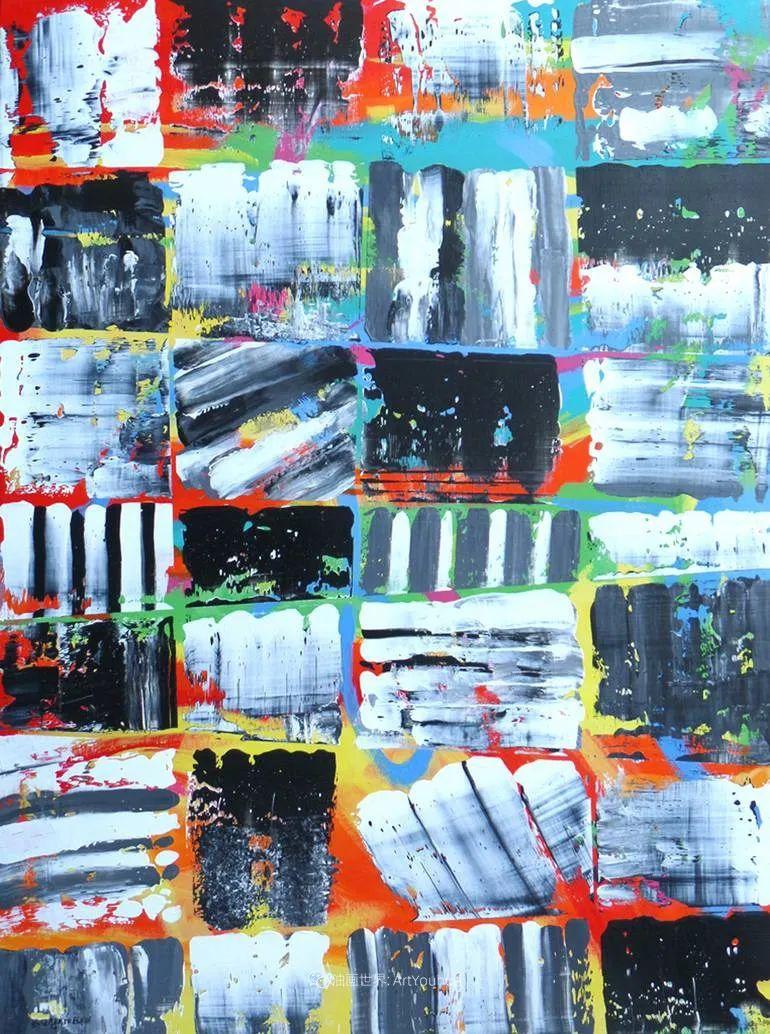 色彩缤纷,大笔触的风景与建筑,充满活力!插图99