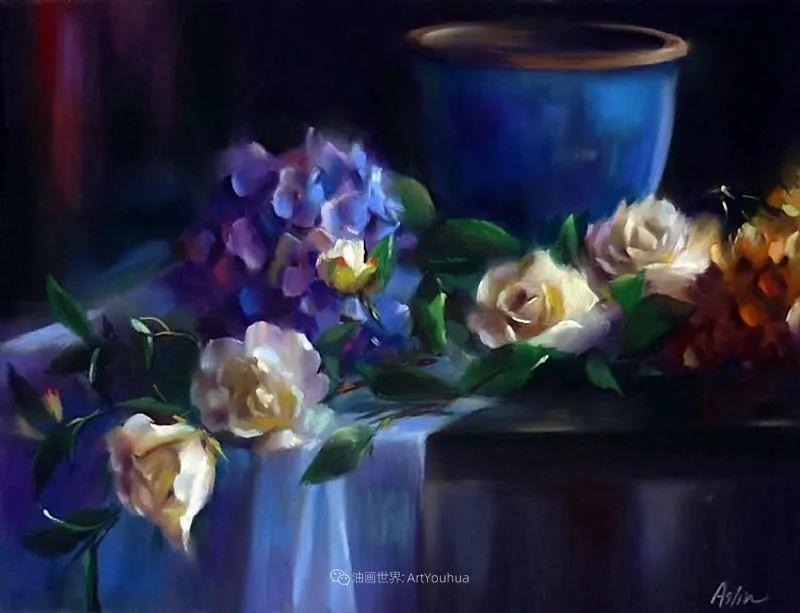 美妙的光影变化,粉彩花卉!插图7