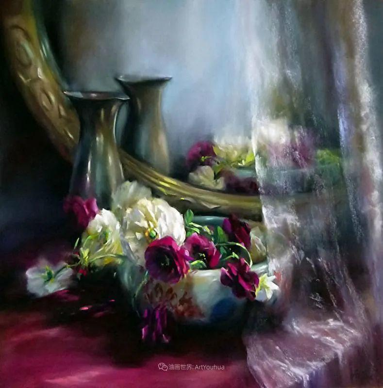 美妙的光影变化,粉彩花卉!插图9