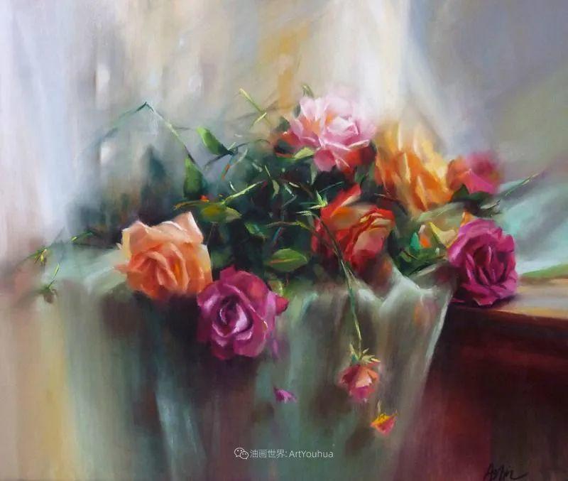 美妙的光影变化,粉彩花卉!插图11