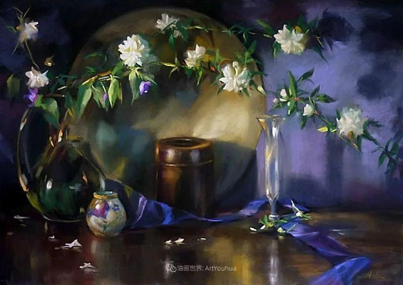 美妙的光影变化,粉彩花卉!插图20