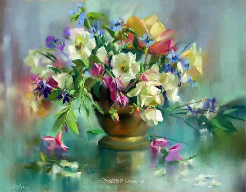 美妙的光影变化,粉彩花卉!插图21