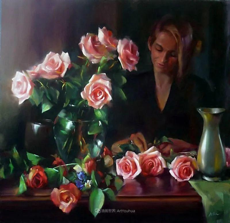 美妙的光影变化,粉彩花卉!插图22