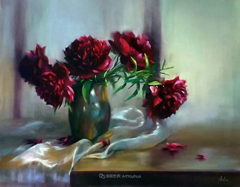 美妙的光影变化,粉彩花卉!插图24