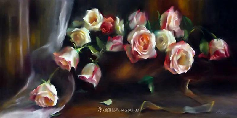 美妙的光影变化,粉彩花卉!插图25