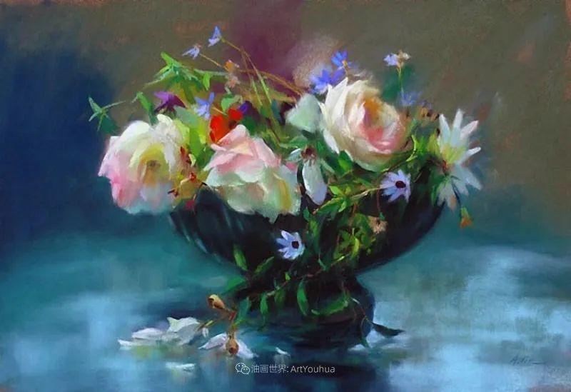 美妙的光影变化,粉彩花卉!插图27