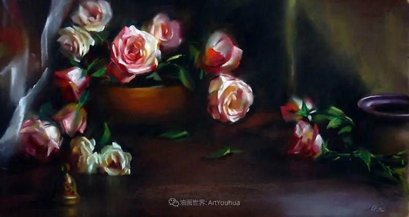 美妙的光影变化,粉彩花卉!插图28