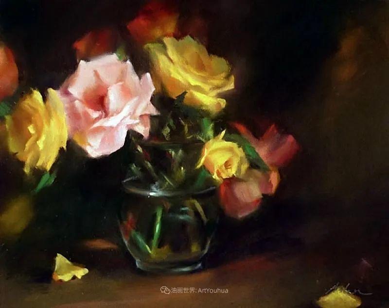美妙的光影变化,粉彩花卉!插图29