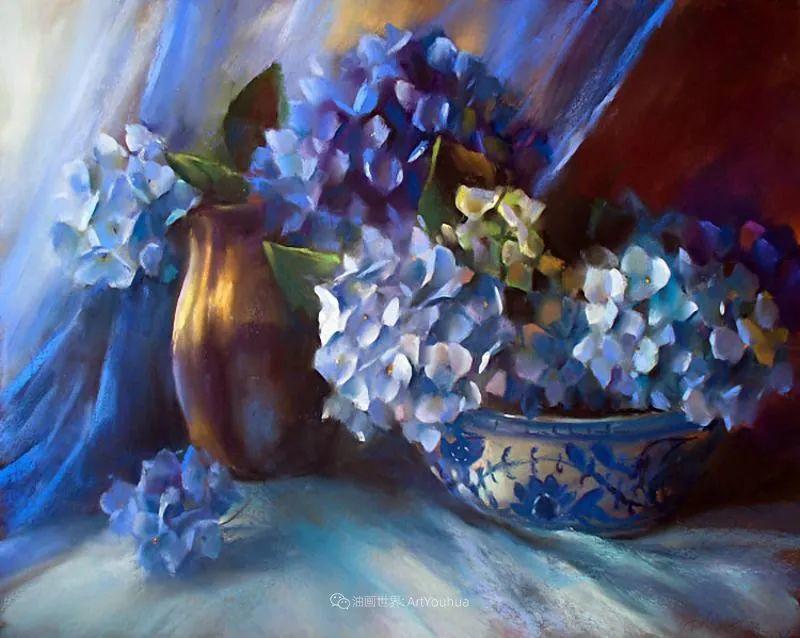 美妙的光影变化,粉彩花卉!插图30