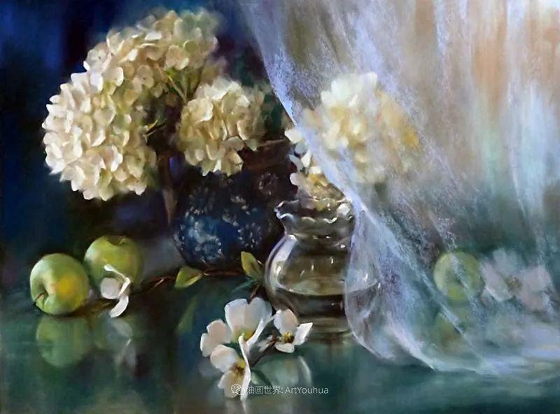 美妙的光影变化,粉彩花卉!插图31